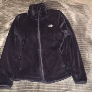 Purple/ Grey North Face Jacket